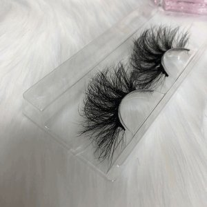 Long Soft 3d 25mm Mink Eeyelash